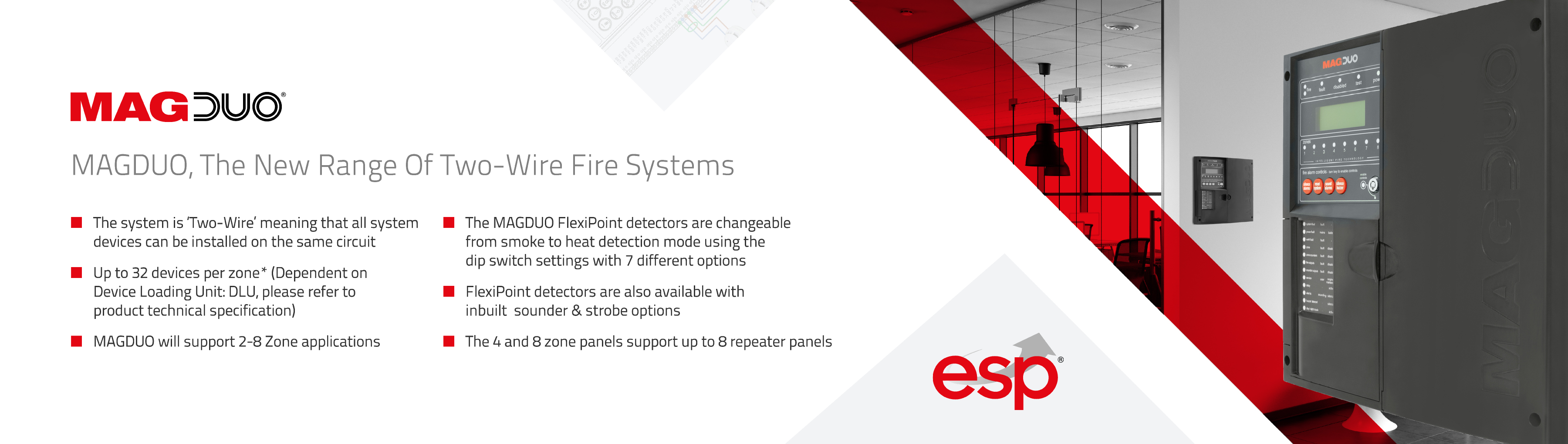 Two-Wire Fire System ESP Banner