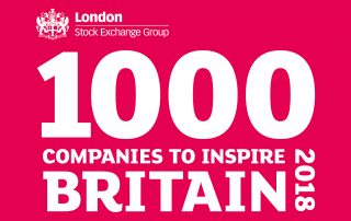 1000 Companies to Inspire Britain 2018