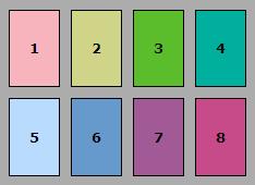 CRI lamps test colours