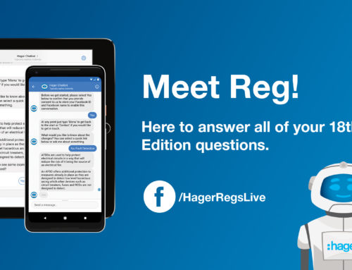 Hager launch 'Reg Bot' for 18th Edition Training