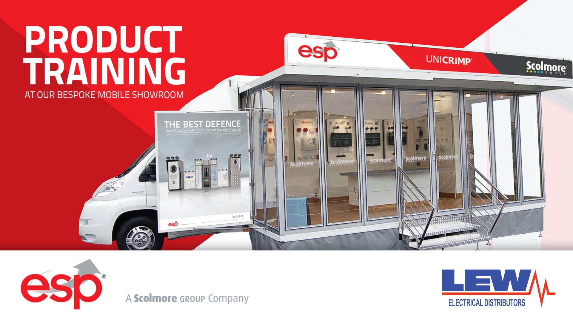ESP Showroom at LEW