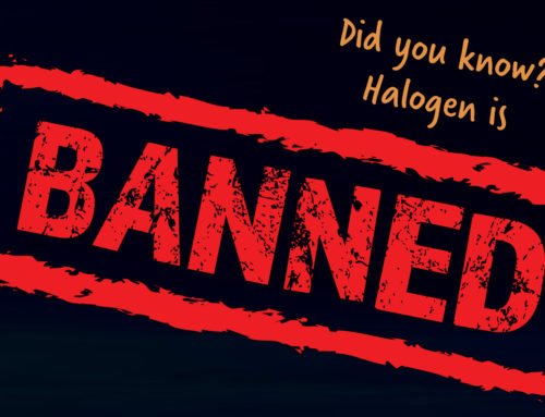 Halogen ban! Are you ready?