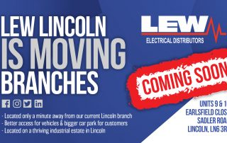 LEW Lincoln is moving!