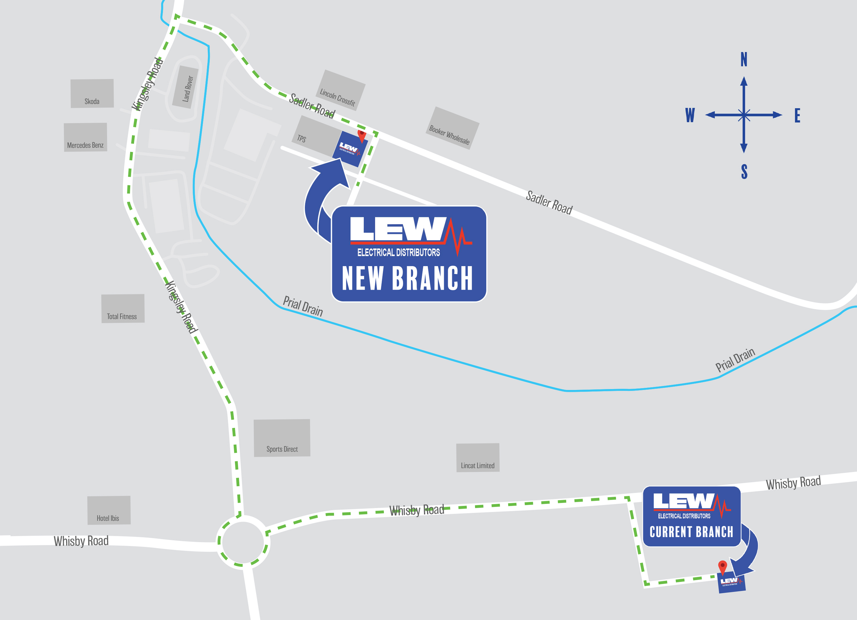LEW Lincoln is Moving! | LEW Electrical Distributors