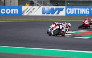 Peter Hickman at Silverstone