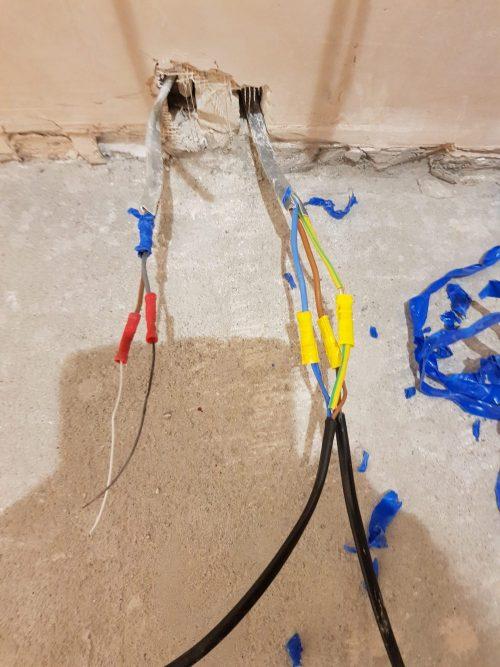 Heat Mat Cable Joints