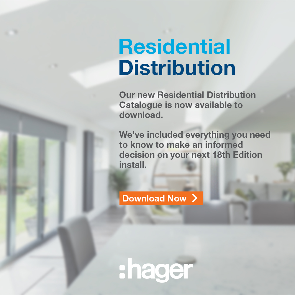 Hager's residential Distribution Catalogue