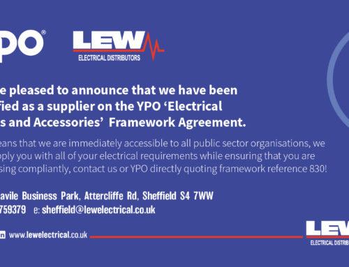 Sheffield Qualify from YPO Framework Agreement