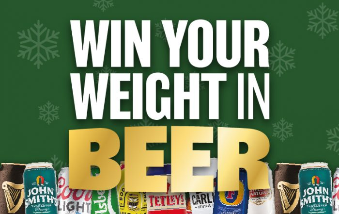 Win Your Weight In Beer