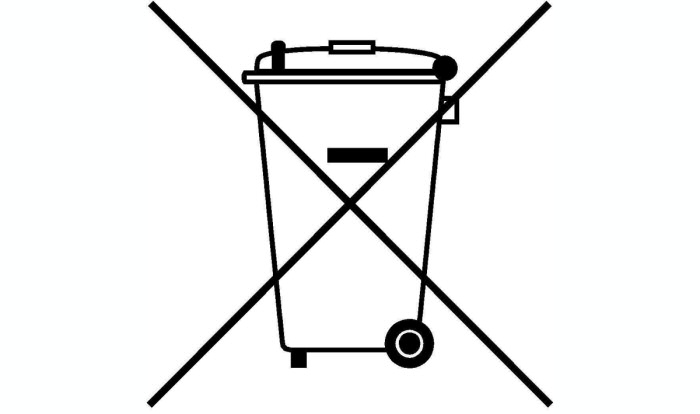 WEEE recycle Symbol