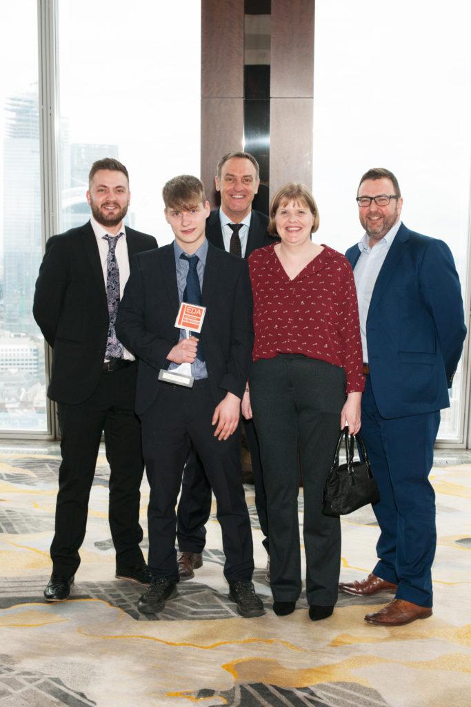 Jack Hague EDA Apprenticeship Award 2019