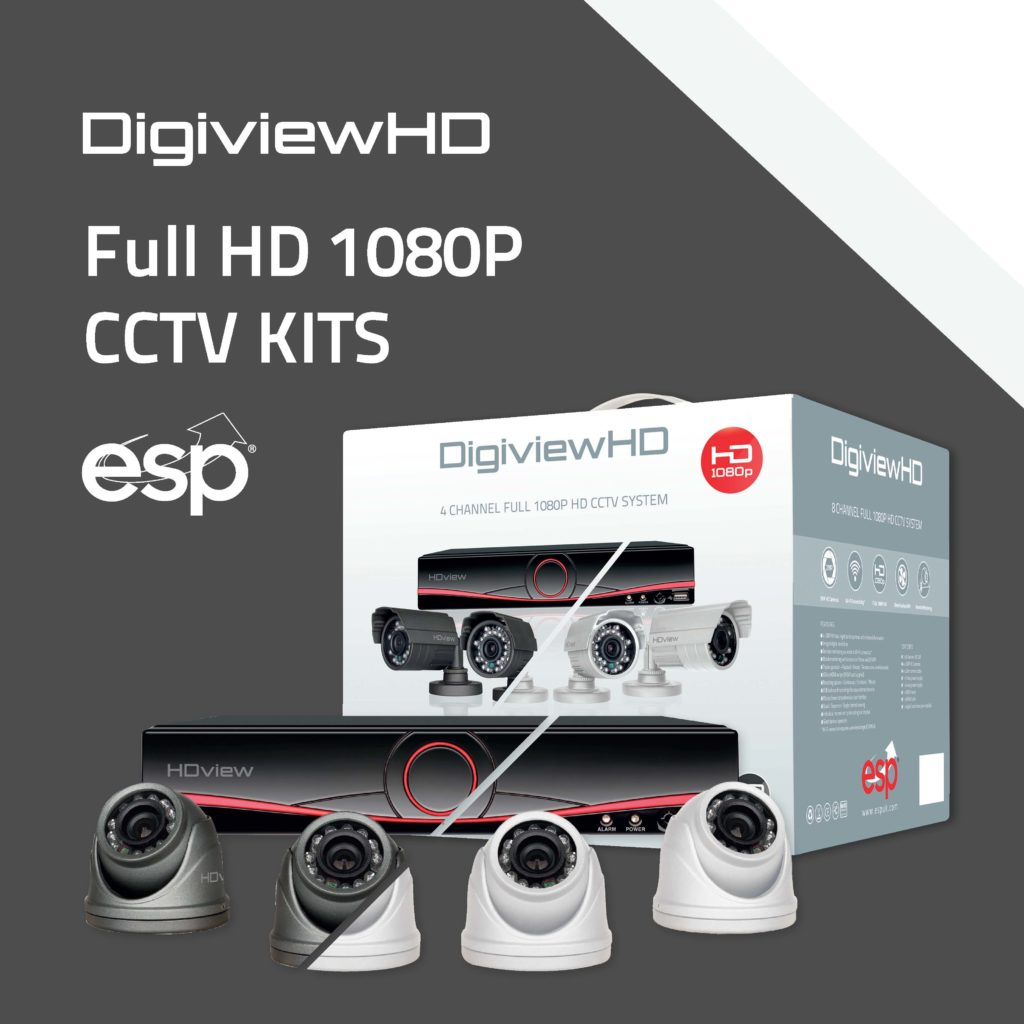 Digiview HD 1080P CCTV Kits