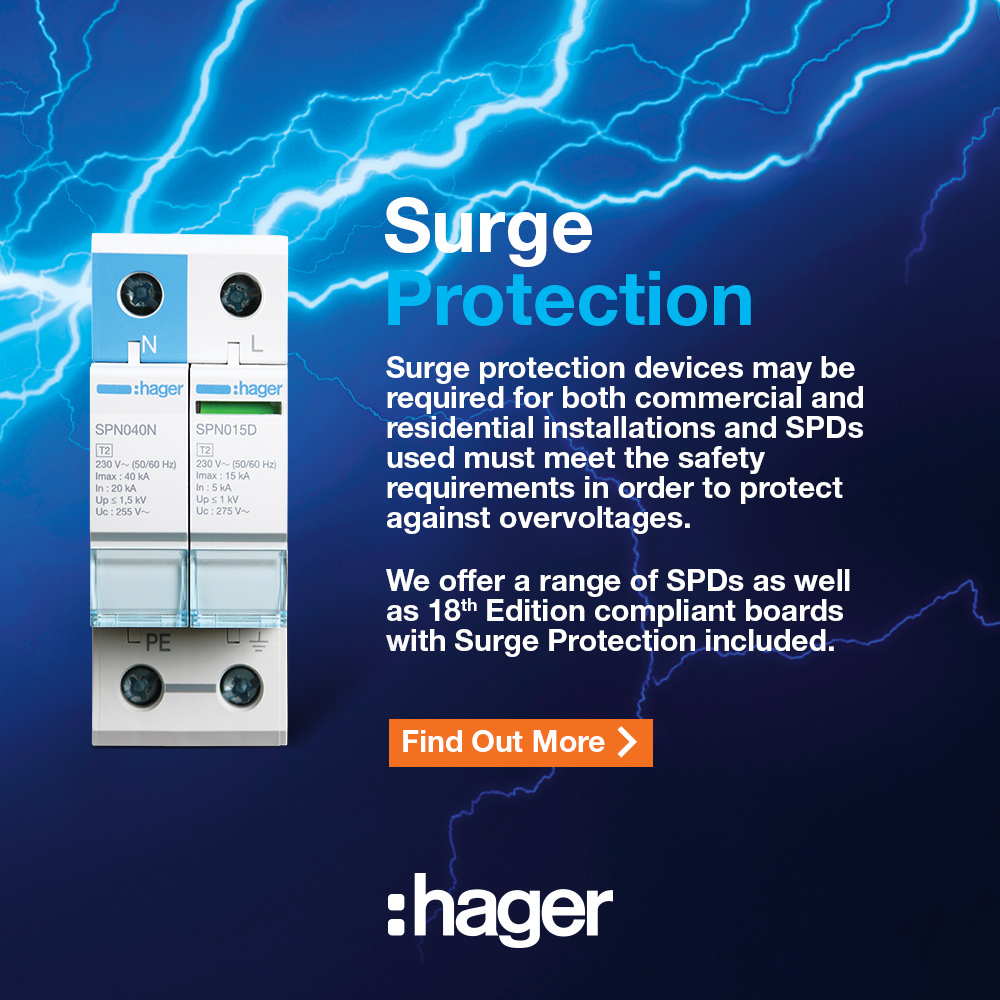 Hager 18th Edition Surge Protection Devices