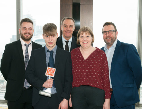 EDA Award for LEW Apprentice