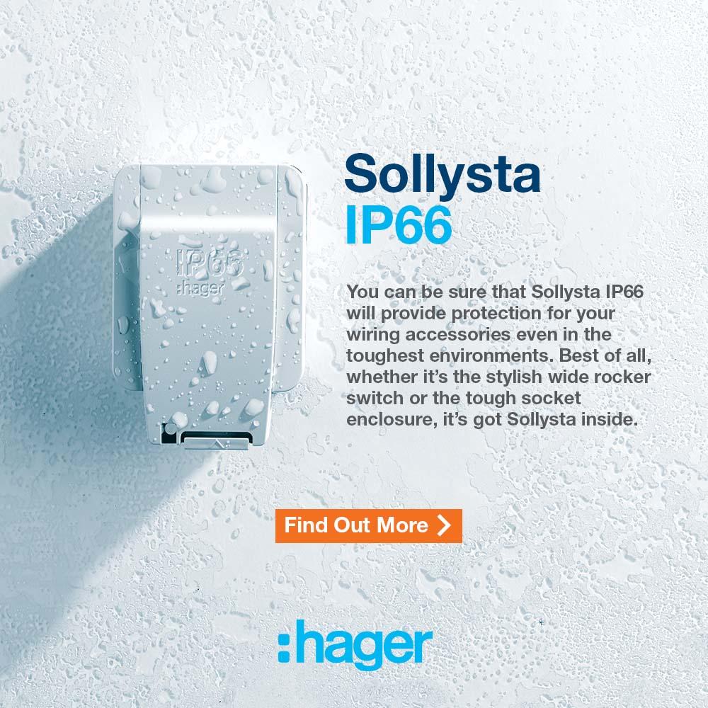 Hager Sollysta Wiring Accessories