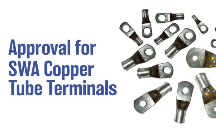 SWA TQ Copper Tube Terminals