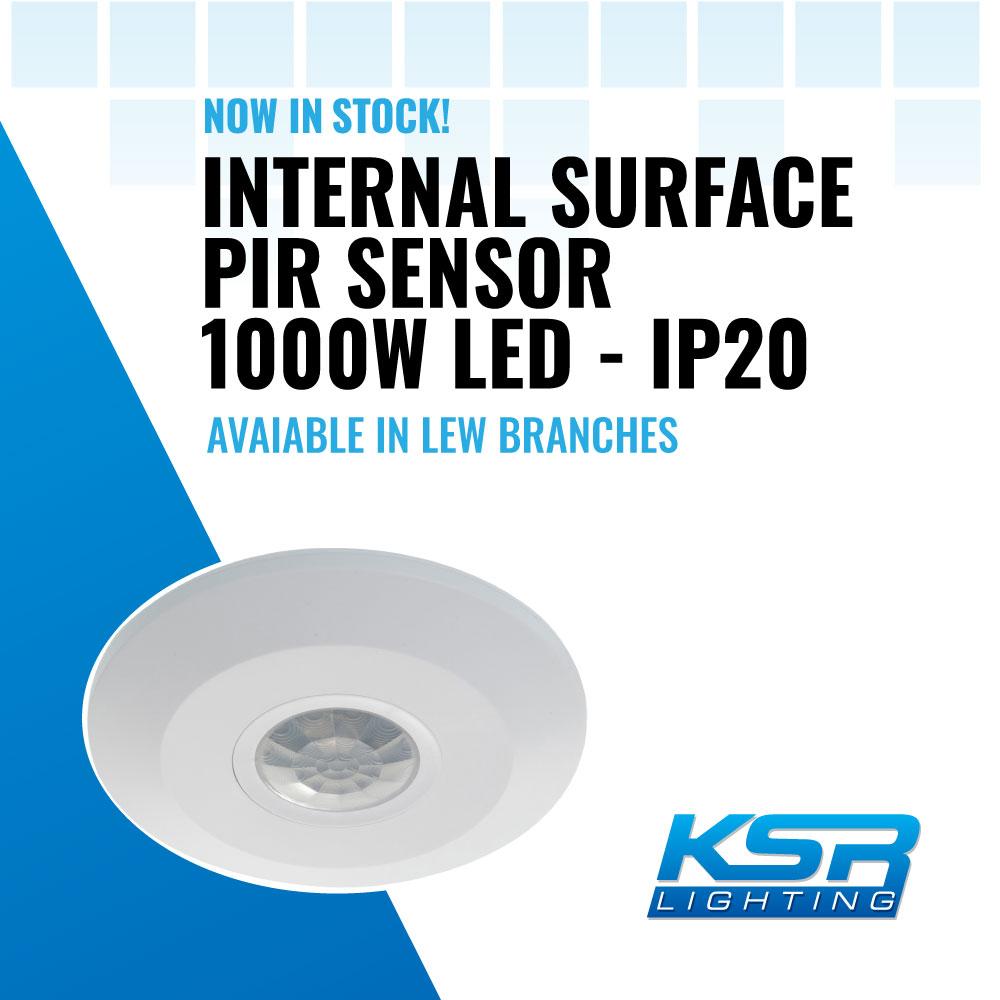 KSR Lighting Internal PIR Sensor