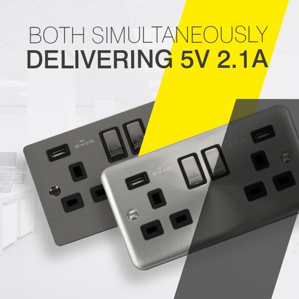 Scolmore Click USB Sockets