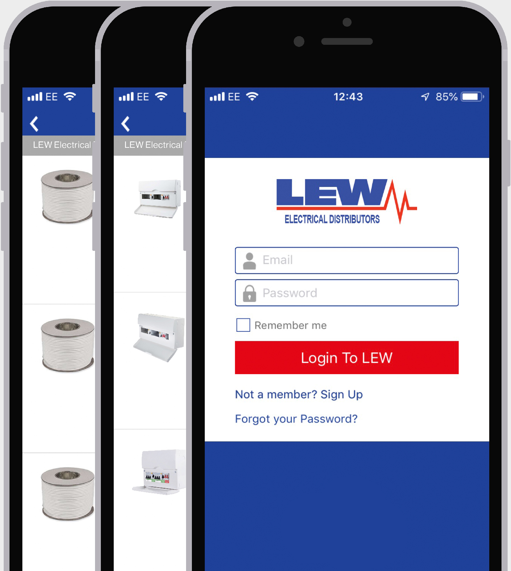 Click & Collect App