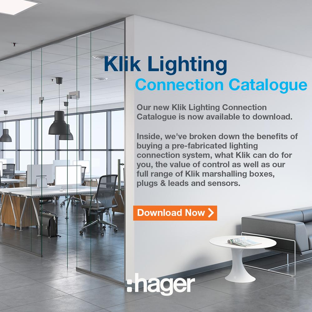 Hager Klik Lighting