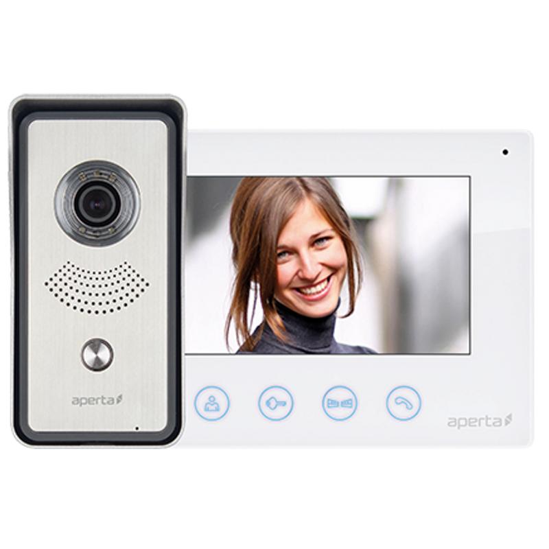ESP video door entry security system