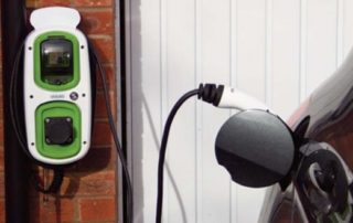 Rolec EV Chargepoint charging a car