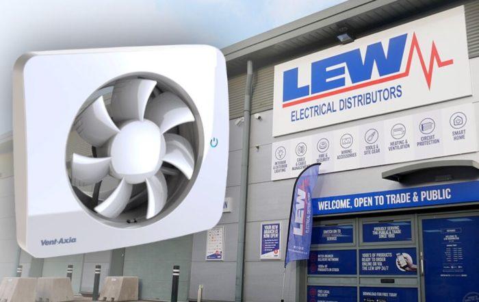 ent-Axia smart ventilation fans product image