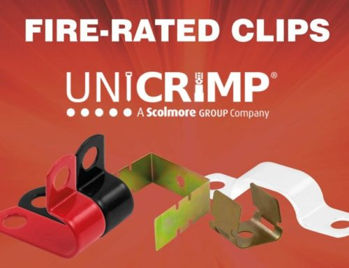 Unicrimp 18th Edition Fire-Rated Cable Clips