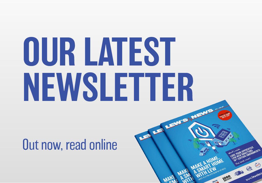Read Our Newsletter   Award Winning Electrical Wholesaler