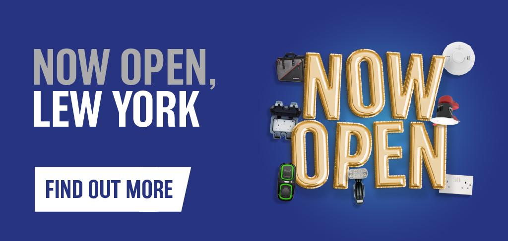 LEW York Now Open