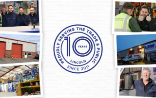 LEW Lincoln Celebrating 10 Years