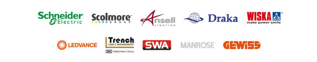 Euro A Winner Supplier Logos